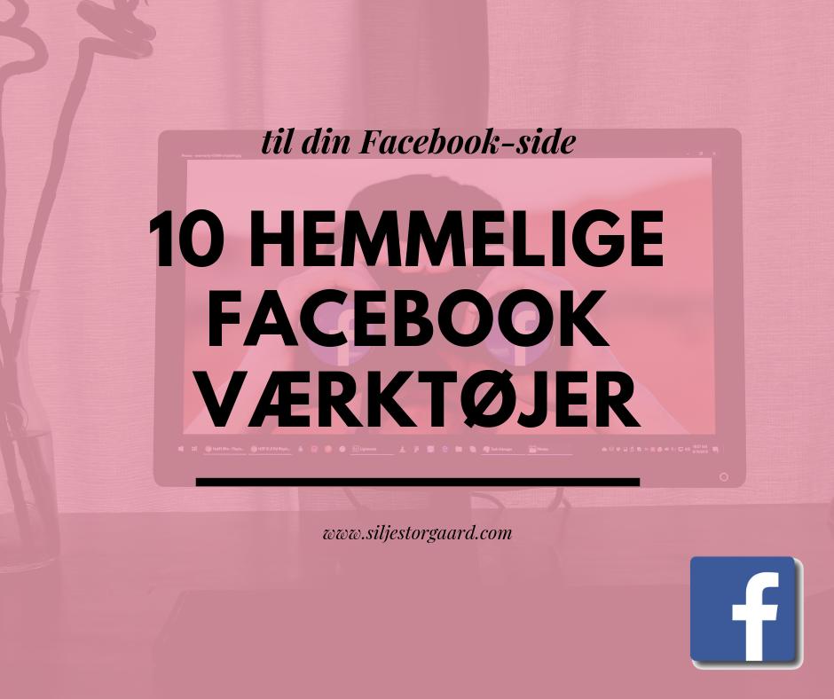 10 hemmelige Facebook værktøjer 1