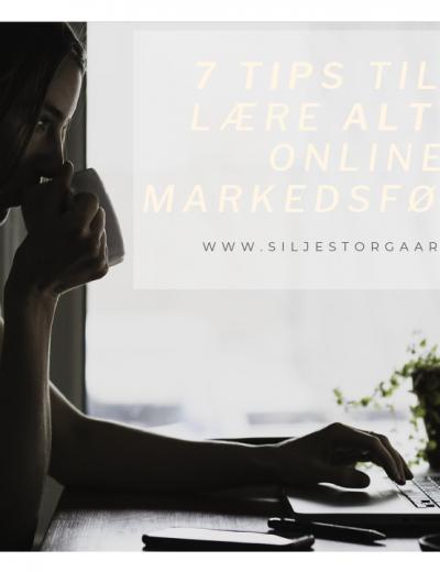 Lær alt om online markedsføring