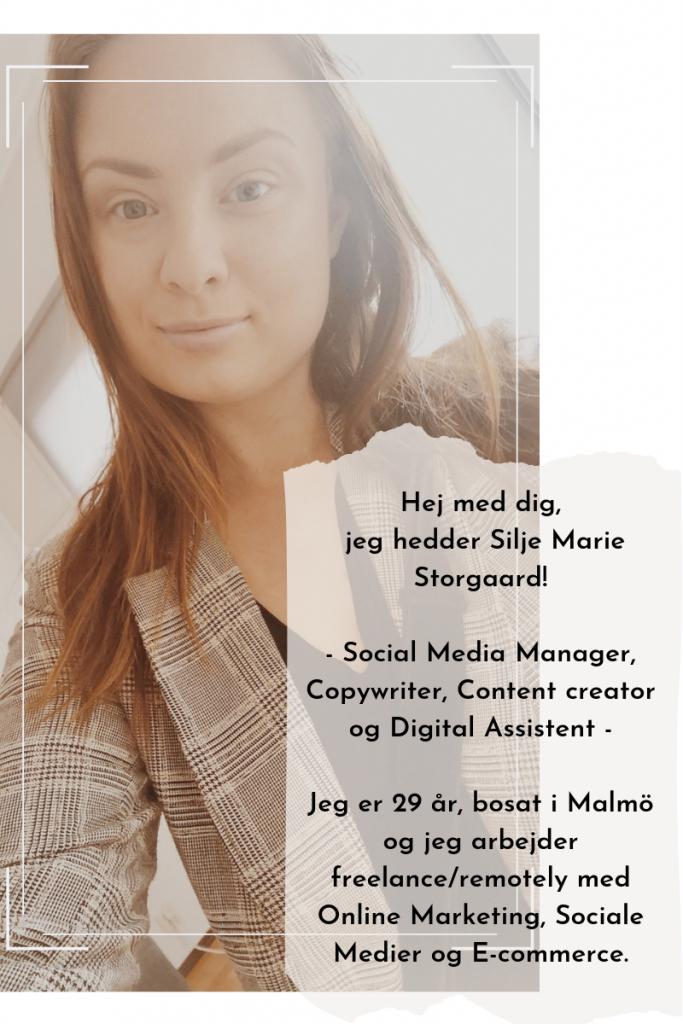 Om Mig Blog Silje Marie Digital
